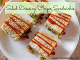 Finger Sandwiches Recipe - Salad Dressing Finger Sandwiches | Tea Sandwiches