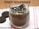 Oreo Milkshake | Cookies and Cream Milkshake