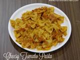 Quick & Cheesy Tomato Pasta