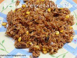 Stir Fried Vegetable Rice | Quick Fried Rice Recipe