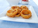 Baked Onion Rings (Gluten Free)