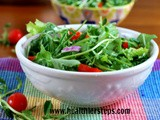 Spring Cleanse Salad with Quick & Easy Salad Dressing