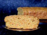 Healthy Zucchini Carrot Cake Recipe – Eggless and Whole Wheat