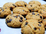 Toasted Wheat Germ Chocolate Chip Cookies with Honey