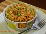 Quick Schezwan Fried Rice