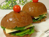 Salad Burger | Healthy Sandwich Recipe
