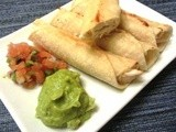Chicken Taquitos | Healthy from Scratch
