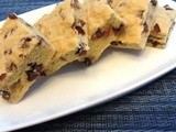 Chocolate Chip Cookie Squares | Healthy from Scratch