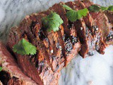 Marinated Grilled TriTip Roast