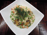 Pancetta and Pea Risotto