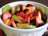 Hot Spiced Fruit Salad
