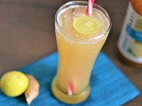 Apple Cider Vinegar Digestive Mocktail