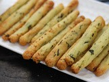 Crispy Potato Rava Fingers - Non Fried