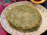 Crispy Spinach Cheela in 10 min