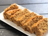 Eggless Barley Apple Cake