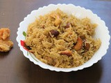 Jaggery Rice Recipe in 15 min