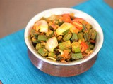Restaurant Style Bhindi Do Pyaza