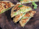 Stuffed Broccoli Paratha