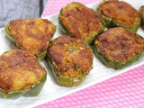 Stuffed Capsicum Slices