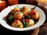 Aloo Dum: Baby Potatoes in Spiced Gravy