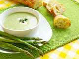 Asparagus Chicken Soup Recipe Vegan