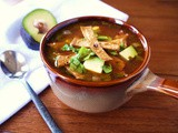 Chicken Soup with Tortillas Recipe