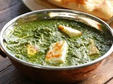 Palak Paneer: Fresh Spinach with Cheese