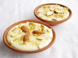 Phirni: Rice Pudding Recipe