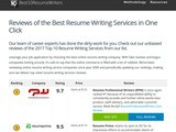 Best10resumewriters.com review – Resume writing service best10resumewriters