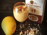 Walnut mango smoothie