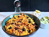 Zaffrani nuts and berry pulao