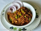 Curried Beef Mince with Green Peas (Beef Kheema Matar)