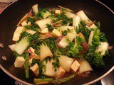 Baby Bok Choy and Tofu in Sweet and Sour Sauce