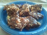 Dates & Nuts Burfi with Nutella