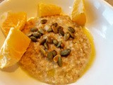 Savory Oats with Oranges and Olive Oil