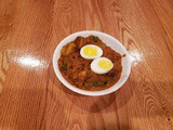 Spicy Egg Curry - Dhaba Style
