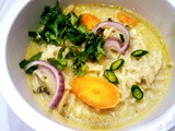Thai Green Curry Ramen Bowl