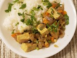 Vegan Jamaican Curry Tofu