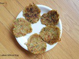 Vegetable Latkes Without Egg