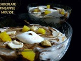 Chocolate Pineapple Mousse