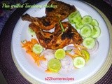 Tandoori chicken pan grilled