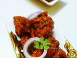 Fried Chicken Kabab - Restaurant Style