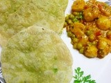 Green Peas Kachori with Spicy Dum Aloo