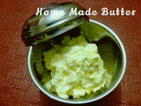 Home made Butter Recipe using mixer