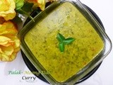 Palak - Moong Dal - Curry