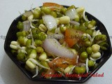 Sprouted Moong Dal/ Green Gram Salad
