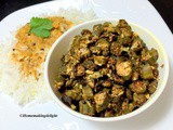 Baked Okra Recipe – Bhindi Fry in Oven – Quick Starter for Parties