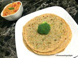 Broccoli Paratha Recipe – Stuffed Paratha Recipe