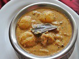Kerala Style Potato curry (with coconut milk )
