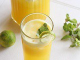 Pineapple lemonade | Summer Drinks